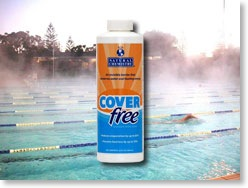 Swimming Pool News Magazine Latest News New Liquid Pool Cover Reduces Evaporation And Heat Loss